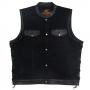 Denim & Leather Rider Waistcoats & Cut Offs