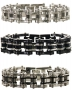 Mens Bike Chain Bracelet Clearance
