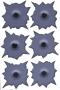 .38 Bullet Holes Sticker Sheet
