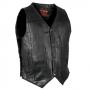 10 Pocket Leather Waistcoat