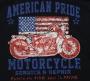 American Pride Motorcycle Repair T Shirt