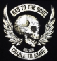 Bad to the Bone Skull & Wings T Shirt