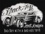 Black Top Hell Raiser Hot Rod T Shirt