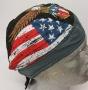 Eagle & American Flag Pre-Tied Zandana - Bandana