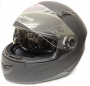 FULL FACE MATT BLACK S LINE HELMET