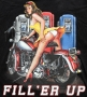 Fill Er Up Classic Harley Hoodie