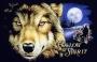 Follow the Spirit Wolf T Shirt