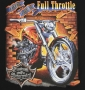 Full Throttle Custom Motorcycles T Shirt