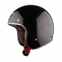 LS2 Low Profile Open Face Gloss Black EU Old School  Helmet