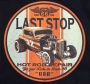 Last Stop Garage Hot Rod Car T Shirt