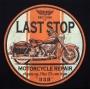 Last Stop Motorcycle Garage Hoodie