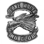 Lone Wolf No Club Pin Badge
