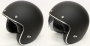 Low Profile MT Le Mans SV MATT Black Open Face Helmet
