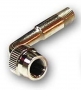 Motorbike valve extension 90 degree chrome