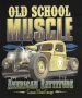 Old School Muscle Rattitude T Shirt