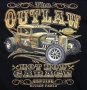 Outlaw Hot Rod Garage T Shirt