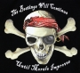 Pirate The Beatings Will Continue  T Shirt