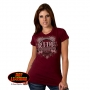Ride Forever Free Lady Rider T Shirt