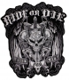 Ride or Die-Biker for Life Sew on Patch