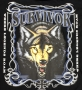 Survivors American Wolf T Shirt