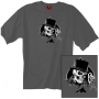 Top Hat Skull Double Sided T Shirt