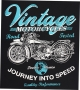 Vintage Motorcycles T Shirt